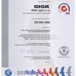 Сертификат ISO 9001-2008