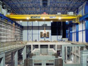 Двухбалочный мостовой кран GDMJ с грузоподъёмностью 120t/50t