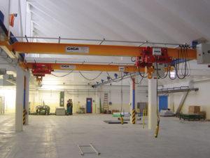 Подвесные мостовые краны GPMJ 3,2 т./10 м.