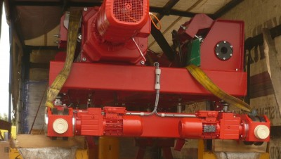 Перенос и реконструкция крана SNINA 5т-22,2м на 10т-22,2м для NYPRO Malé Svatoovice