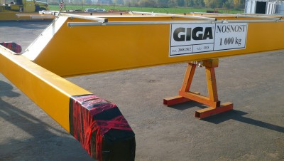 Изменение пролета мостового крана GJMJ 1т / 25,2м на 26,6м